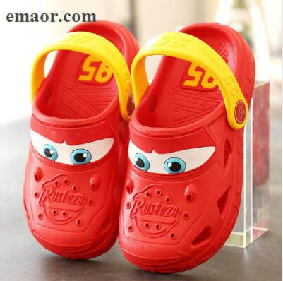 7b64554a4803 Kids Garden Shoes Summer Cartoon Car Hollow Cute Hole Non-slip Children s  Beach Breathable Sandals
