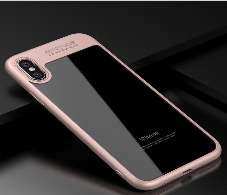 New tpu iphonex shell transparent Apple x glass mobile phone iphone7 mobile phone protection cover wholesale EMAOR