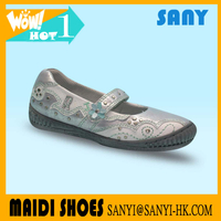Latest Style Casual Chic Man-made Kid Flat Dance Shoes