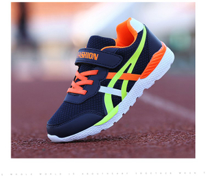 2018 summer the new soft and comfortable children's shoes breathable fashion sneakers Damping wear-resisting MD sole of runing shoes