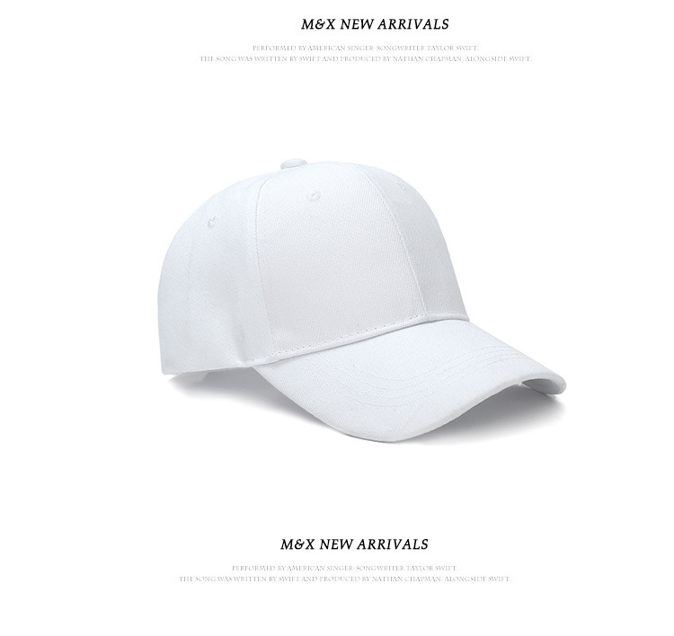 428c4285 New Brand Summer Black Solid Color Hats Baseball hat Men's Women's  children's unisex cap best on