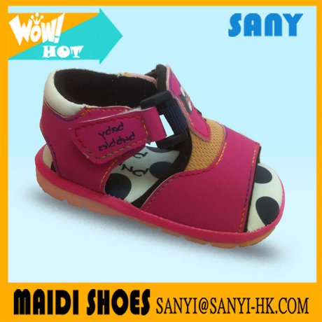 Latest Style Leather soft sole prewalker toddler shoes