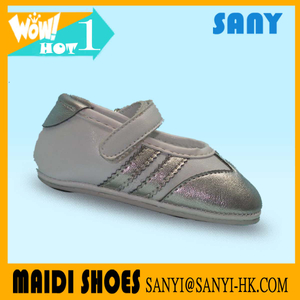 Stylish Sport Casual Soft Kid Dance Shoes with Shiney PU Upper