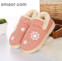 Women Winter Home Slippers Shoes Non-slip Soft Indoor Bed Winter Warm House Slippers room Lovers Couples Floor Shoes
