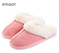 Womens Slipper, Fluffy Slip On House Slippers Clog Soft Indoor Outdoor Slipper for Winter