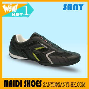 Stylish Casual Sport Shoe with Special Design PU upper TPR outsole accept OEM