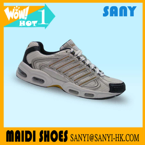 2018 Newest Air Beige Sport Shoes for Men with Highly Flexible Outsole