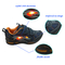 Fashionable Buckle Strap k BlacSport Shoes with Light
