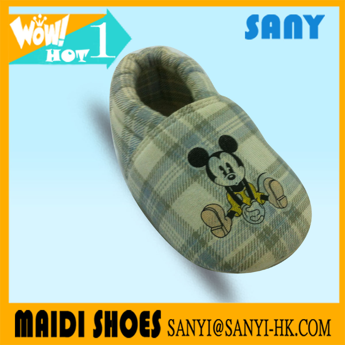 Wholesale Soft Sole Cartoon Printed Warm Infant Shoes In China