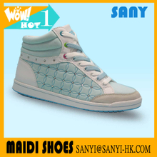 Best Selling Elegant/ Classy High Top Mint Skate Shoes for Woman