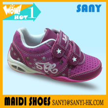 Hottest Stylish Buckle Strap with TPR Sole And EVA Sole And Cotton Fabric Lining Kid Casual Shoe for Girls