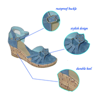 Best Wholesale Newest Model Women Wedge Sandals from Fujian,China