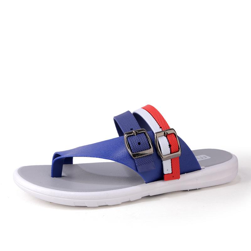 Outside Women Flip Flops Slippers Summer New Pu Flat -9633