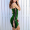 2018 Sexy Spaghetti Strap Nightclub Mini Party Dresses red Summer Sequined Dress Vestido Backless Sequin Women Dress