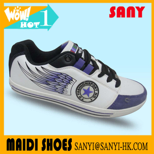 men's skate shoes from Jinjiang for exported skateboard shoes printed in logo season skate shoes