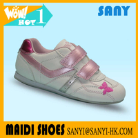 Latest Pink Lovely Girl Casual Shoes with Crystal from China Jinjiang with high quality lower price