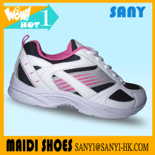 The Most Fashionable Bright Color Sexy Woman's Running Shoes with Fold-resistant Outsole
