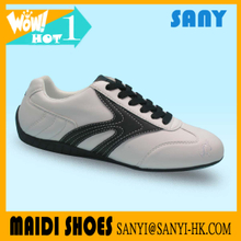 New Product Men White PU Pointed Walking Shoes with Anti-slip TPR Outsole Accepted OEM&ODM