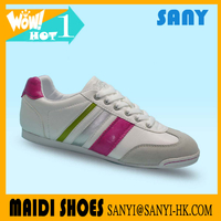 Hotest Smart Woman Practice Casual/ Leisure Shoe with Fashionable PU&suede Upper and rubber Outsole from Chinese Market