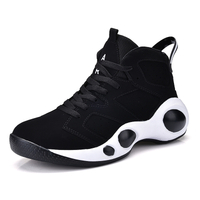 Basketball Shoes Air Basketball Training Boots Absorption Sports Shoes Athletic Sports walking Shoes Men Sneakers Trendy high top couple models running shoe