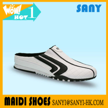 Hot Selling Stylish White Sport Casual Shoes with Durable Outsole for Men