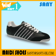 Mens sneakers casual Hot Selling Breathable Suede Lace-up man Casual Shoes with Durable Rubber Outsole