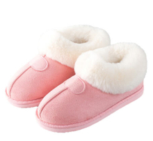 Womens Indoor Slippers Outdoor Soft Velour Quilted Fur Lined Clog Slipper W/Memory Foam