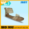 Latest Ladies Formal Hot Selling Wholesale Stylish Flat Sandals For Girl With Anti-slip Outsole