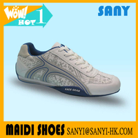 Latest Stylish Nice Men's 2017 Best selling Casual Shoes with Fashionable Printed Upper for Man Accepted OEM&ODM