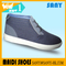 Best Selling European Men's Fashionable Cotton Fabric Casual Shoes with Anti-slip Rubber Outsole