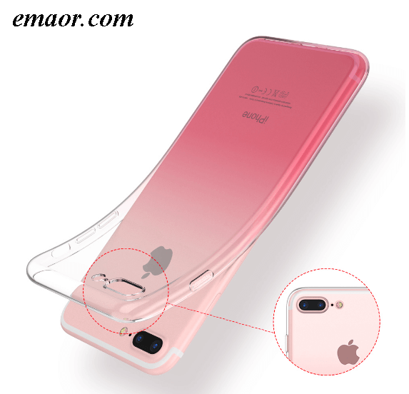 Iphone Cases IPhone 6 6S IPhone 7 8 Plus Ultra Anti-drop Thin Cases for IPhone X XS Max XR Clear TPU Phone Cases For IPhone 5S 5 SE Fundas DIY Lovers IPhone Shell