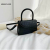 Fashion Bags Women's Stone Mini Bags Handle Satchel Purse Crossbody Shoulder Bags PU Leather Ladies Bags