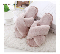 Slippers Socks Women's Winter Women's Home Slippers with Faux Fur Fashion Warm Shoes Slipper Socks Women's Slipper Socks