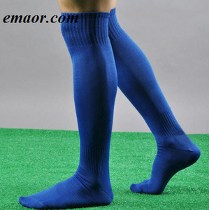 Mens Sport Socks Football Soccer Outdoor Over Knee High Socks Baseball Hockey Long Calcetines