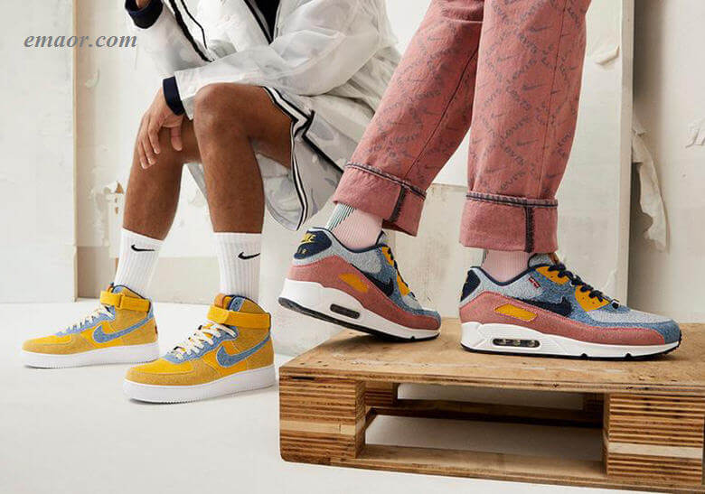 Levis-Nike-By-You-AF1-AM90-7