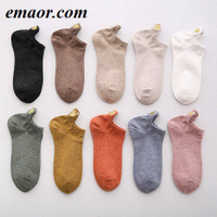 Women Socks New Fashion Ankle Socks Girls Cotton Color Novelty Cute Heart Casual Ladies Socks