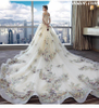 Wedding Dresses for Girls White Strapless Long Formal Dresses for Womens Plus Size Formal Gowns Lace Luxury Bridal Dress With Sleeves Evening Gowns Cheap