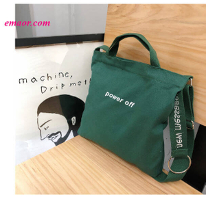 Cheap Casual Personalized Shopping Bags Female Hot Sale with Canvas Bags