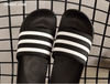 Men's Slippers Frette Slippers Soft Black And White Stripes Kanye Slippers Concha Slippers