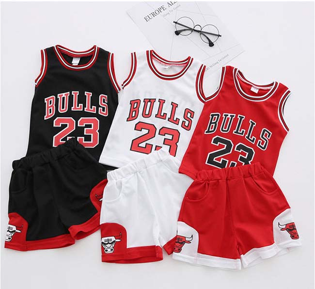 Kids Basketball Vest Baby Clothes