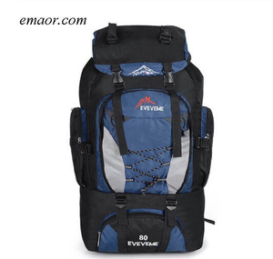 Outdoor Leisure Sports Hiking Backpack Camping Waterproof Backpack Climbing Bags