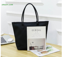 Pattern Canvas Bags Women's Handbags Reusable Eco Foldable Shopping Bags Tote Pouch Ladies Beach Bags