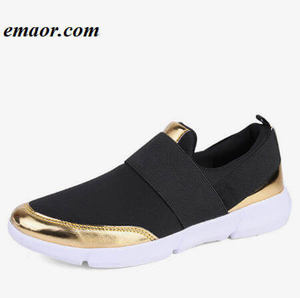 Women Slip On Loafers Spring Autumn Comfortable Flats Breathable Stretch Cloth Fashion Ladies Casual Shoes