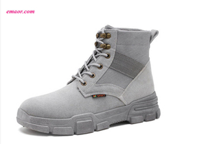 New Spring And Autumn Best Martin Boots Hot Sale Men's in The Fashion Trend Casual Shoes Work Boots