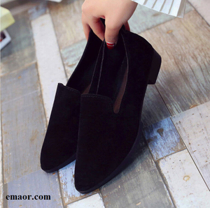Women Loafers Spring Summer Flats Shoe Simple Women Casual Shoes Suede Slip on Boat Shoes Female Shoe Comfortable Ballet Flats Shoes