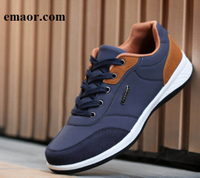 Mens Casual Shoes Spring Summer New Men Shoes Lace-Up Men Fashion Shoes Microfiber Leather Casual Shoes Brand Men Sneakers Men FLats