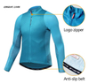 Cycling Clothing for Mens Long Sleeves Sun-protective Road Bike Breathable Quick Dry Biking Shirt China Factory
