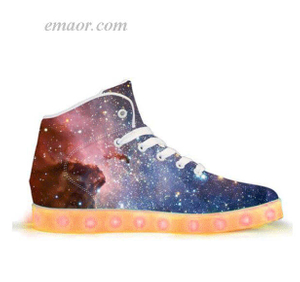 Led Fashion Shoes Lightyear-APP Controlled HighTop LED Shoes Electric Light Sneakers Shoes