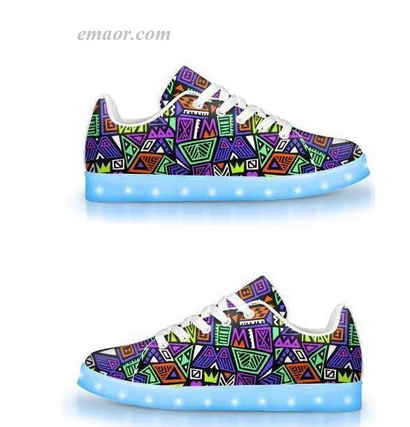 Best Led Sneakers All That &a Bag of Chips-APP Controlled Low Top LED Shoes Walmart Led Shoes