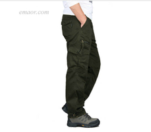 Best Men's Cargo Pants Cheap Multi Pockets Military Tactical Cam Cargo Pants on Sale